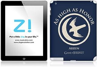 Zing Revolution Game of Thrones Premium Vinyl Adhesive Skin for iPad 2/4, Arryn Sigil Image, MS-GOT10351