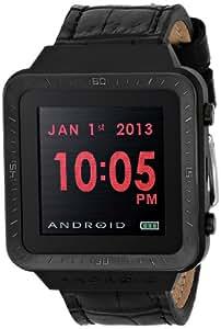 ANDROID 中性款 AD721BK 智能手表 GTS 数码石英黑色手表
