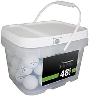 Callaway Player 混合 48 个再生高尔夫球,白色