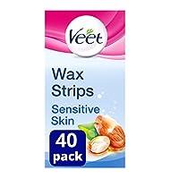 Veet 薇婷 蜡贴带 适用于敏感肌肤–16件装