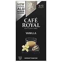 Café Royal Vanilla Flavoured Edition 50 Nespresso kompatible Kapseln aus Aluminium, Intensität 4/10, (5 x 10 Kaffeekapseln)
