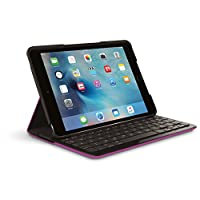 Logitech 罗技 Logi Focus 配有 iPad Mini 4 集成键盘的保护套 紫罗兰