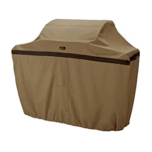 Classic Accessories Hickory BBQ Grill Cover Hickory, Antique Oak and Mahogany X大码