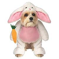 Rubies 步行兔子复活节宠物服装 如图所示 大