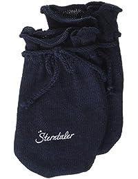 Sterntaler 婴儿 - 男孩手套防刮 faeustel 蓝色 (*300), 新生儿 (厂商尺码 : 0)
