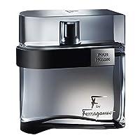 [Salvatore Ferragamo] F Ferragamo Black Gift Set - 100 ml EDT 喷雾 + 75 ml Aftershave Balm + 75 ml Shower Gel (亚马逊海外卖家)