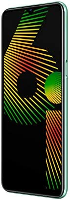 realme 6i 6.5 英寸 HD+ 顯示屏雙 SIM 智能手機 4GB RAM + 128 GB ROM 四攝像頭5972746  *