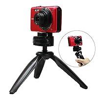 迷你便携式三脚架 table TOP stand legs 适用于 GOPRO 运动相机智能手机小巧 cameras dslrs 迷你投影仪带软纤维布