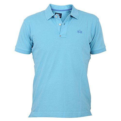 男人与?y???la_la martina la martina 男人 fmp005pk01507045 浅蓝色 棉 保罗衫