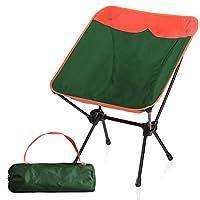 CAMPING WORLD 便携式紧凑型超轻露营折叠椅带铝制框架适用于户外、露营、远足