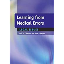 Learning from Medical Errors: Legal Issues (English Edition)
