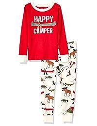 Hatley 男孩款长袖印花 pyjama 套装