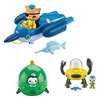 Octonauts 海底小纵队 英国动画片同款 益智玩具 舰队组合装 CHJ04