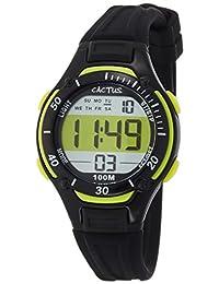 CACTUS 兒童手表 數字 10氣壓防水 CAC-82-M01 男孩