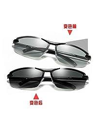 LEIDISEN 雷迪森 智能感光变色眼镜高清偏光日夜两用开车夜视驾驶太阳镜289