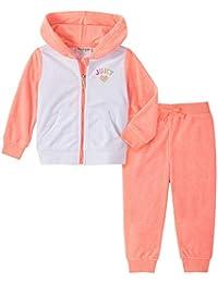 Juicy Couture 橘滋 女童2件套慢跑套装