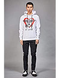 BOY LONDON 中性 卫衣 BOY IS LOVE HOOD 2334001