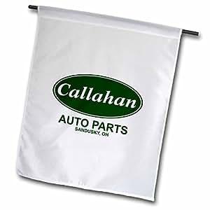 MARK Andrews zegear COOL–CALLAHAN Auto parts–旗帜 12 x 18 inch Garden Flag
