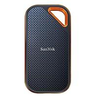 SanDisk 500GB Extreme Pro Portable External SSD - USB-C, USB 3.1 - SDSSDE80-500G-A25