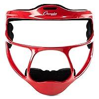 Champion Sports 镁青年垒球外野手面具,红色