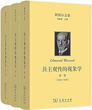 胡塞爾文集: 共主觀性的現象學(全三卷)