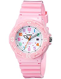 Casio 卡西欧 女款 LRW-200H-4B2VCF 粉色 不锈钢手表 树脂表带
