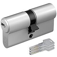 BASI BM EURO profile 圆柱锁30/ 30带3键–MATT 镀镍 ( 5件套 )
