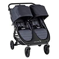 Baby Jogger City Mini GT2双人手推车 碳灰色