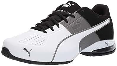 PUMA 彪马 男士 Cell Surin 运动鞋 Charcoal Gray-puma White 6.5
