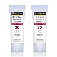 Neutrogena Ultra Sheer Dry-Touch Sunscreen, SPF 30, 3 Ounces (Pack of 2)