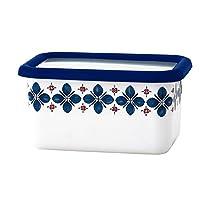 Fuji Horo 蒸煮盒系列 密封盒 藏青色 深型角容器 S CU-DS?N