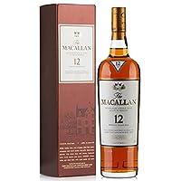 麦卡伦12年单一麦芽威士忌 洋酒Macallan 麦卡伦雪莉桶