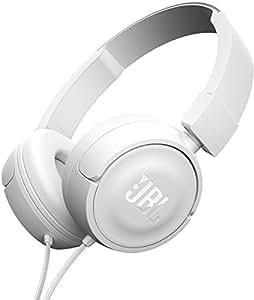 JBL Harman 头戴式 折叠耳机 轻型 带麦克 - White