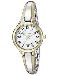Anne Klein Women's AK-2453WTTT Silver Stainless-Steel Quartz Fashion Watch