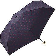 World Party Wpc. 折疊雨傘 海軍藍 50cm 女士 拉鏈袋 鋸齒愛心形 迷你 424-126 NV