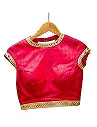女士派对服成品宝莱坞设计师印度风格加垫衬衫纱丽露脐上衣巧克力色