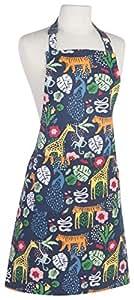 Now Designs 基本款棉质厨房厨师围裙,O Canada! Wild Bunch Print 2500129aa