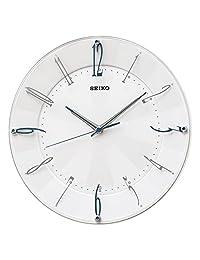 SEIKO CLOCK (セイコークロック) 掛け時計 電波 アナログ 白パール KX214W