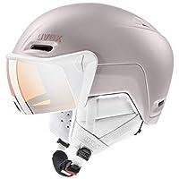 UVEX 優維斯 中性成人 hlmt 700 Visor 滑雪頭盔,粉色,55-59 厘米
