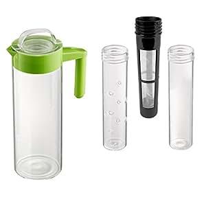 Artland Hydration 口味,167.64 盎司玻璃注入器罐,绿色调 绿色 60 oz 41018