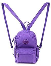 迷你背包时尚日常斜挎包和单肩包旅行钱包紫色 Grand Sierra 设计