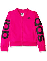 adidas 女童短夹克