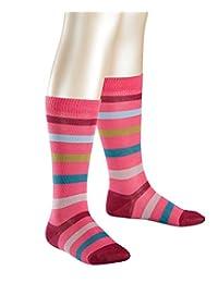 Falke 中性 – 儿童长筒袜11820 New 条纹 KH