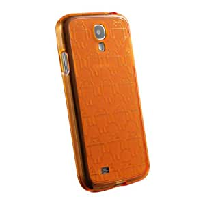 Galaxy S4 Case, Cruzerlite Android Clone Army TPU Case Compatible for Samsung Galaxy S4 - Orange