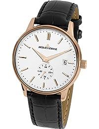 Jacques Lemans 雅克利曼 奥地利品牌 经典系列 石英男女适用手表 N-215B
