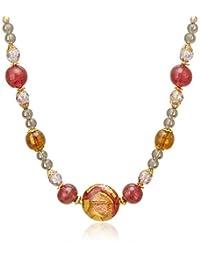 pure pearl 红宝石 叉子 项链 PP593752