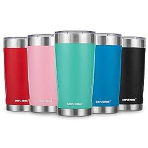 简约饮料保温杯 2.0(加盖+礼品盒)- 20 盎司 薄荷绿 20 OZ 18PA2680577612754