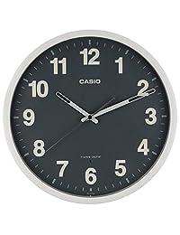 卡西欧(casio) 座钟?挂钟 白色/灰色 30.5×30.5×5.1cm(尺寸) iq-1012j-8jf