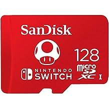 SanDisk 闪迪 microSDXC UHS-I 卡 适用于Nintendo SwitchSDSQXAO-128G-GNCZN  128GB