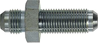Midland 2700-14 形状钢喇叭 37 度隔板接头 1-3/16 英寸-12 JIC 螺纹 x 1-3/16 英寸-12 JIC 螺纹